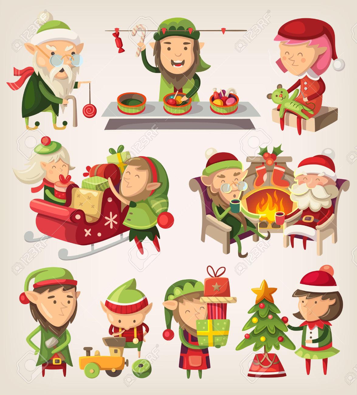 Immagini elfi di babbo natale – Disegni di Natale 2019 5ce9b2e979e3